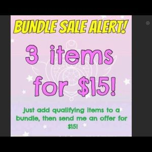 Other - Applies to items < $10.  Any category. See details